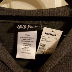 Universal Tops - NWT Harry Potter cropped pullover